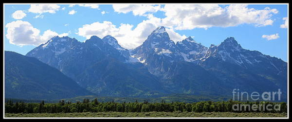 Photograph - On The Edge Of The Tetons by Carol Groenen