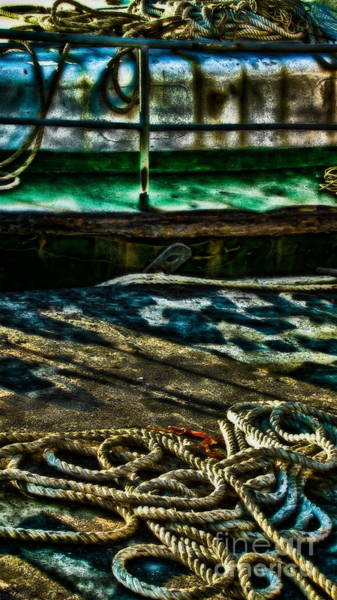 Wall Art - Photograph - On The Ropes by Colleen Kammerer