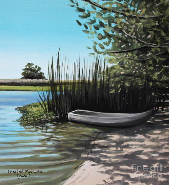 Painting - On The Shore by Elizabeth Robinette Tyndall