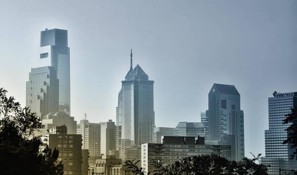 Philadelphia Phillies Digital Art - On The Town - Philadelphia by Bill Cannon