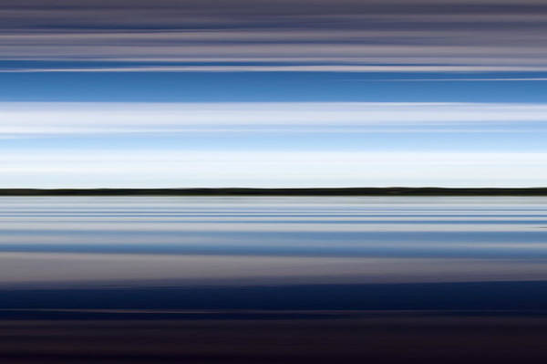Photograph - On The Water Abstract by Gary Eason