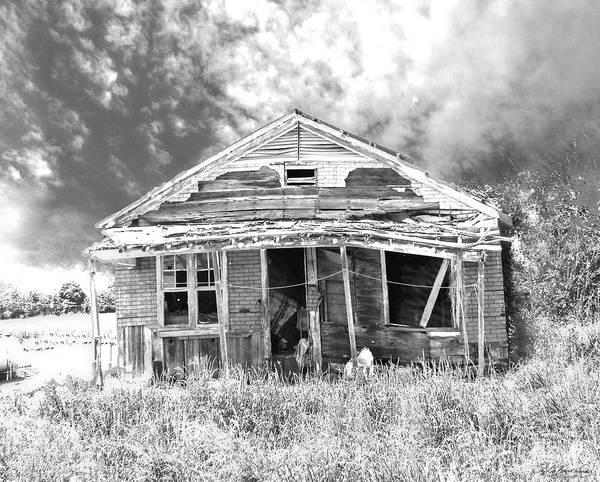 Digital Art - Once Called Home by Lizi Beard-Ward
