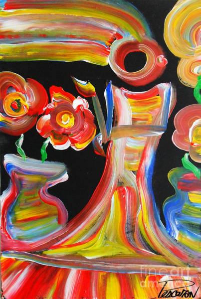 Pescoran Wall Art - Painting - One Day Forever   by John Pescoran