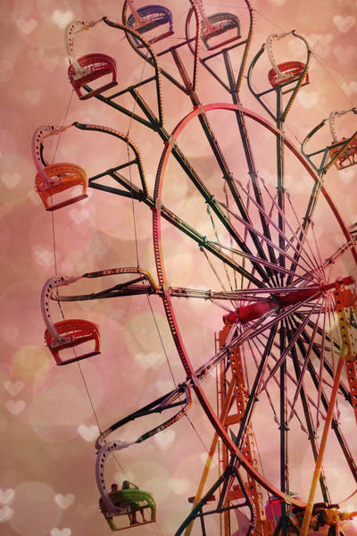 Carnival Rides Wall Art - Photograph - One Enchanted Night by Amy Tyler