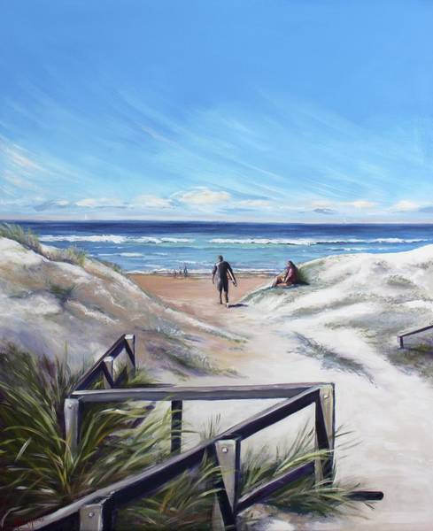 Painting - One Perfect Day by Kathy  Karas