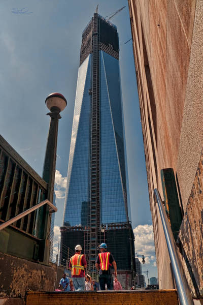One Wtc First Look Art Print