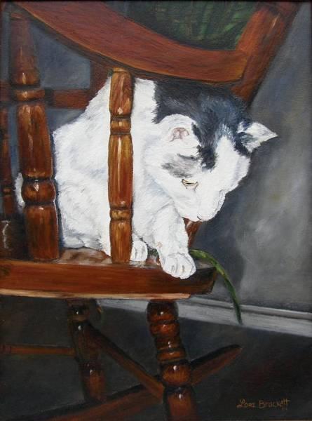 Painting - Oops by Lori Brackett