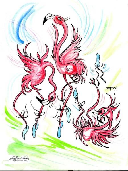 Drawing - Oopsy by Lizi Beard-Ward