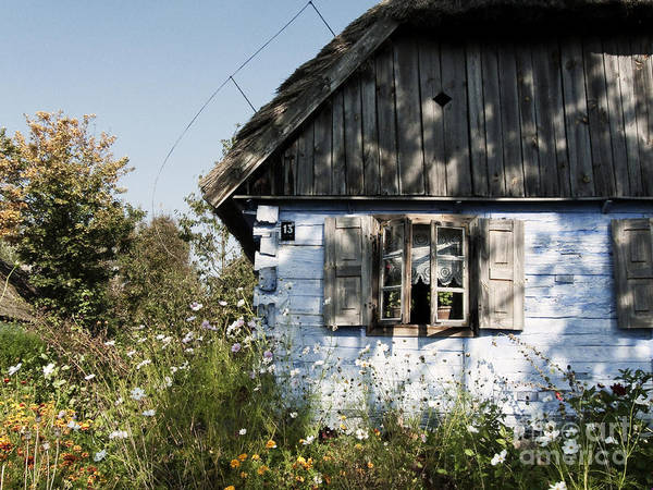 Photograph - Open Window On Late Summer Afternoon by Agnieszka Kubica