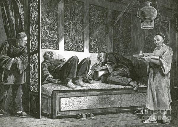 Opium Den Art Print
