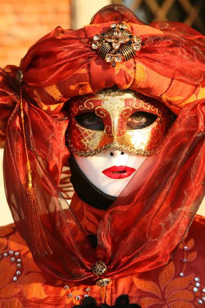 Photograph - Orange Arab Portrait by Donna Corless