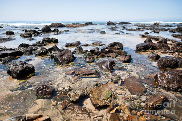 Crystal Coast Photograph - Orange County California Rock Formations by Paul Velgos