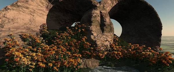 Essence Digital Art - Orange Essence  by John Pirillo