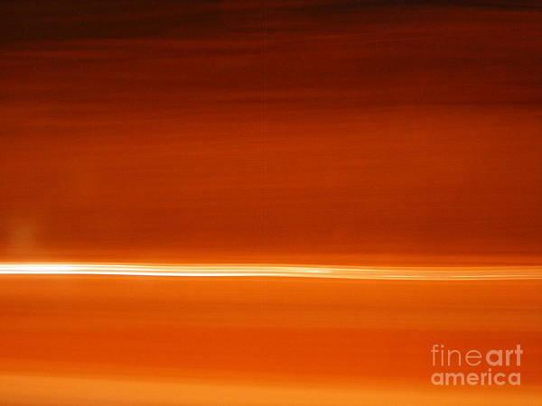 Wall Art - Photograph - Orange Ocean by Diana Seneque