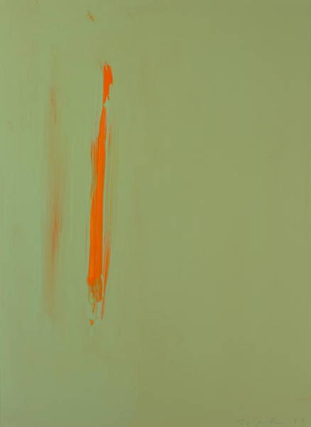 Painting - Orange Wisp by Cliff Spohn