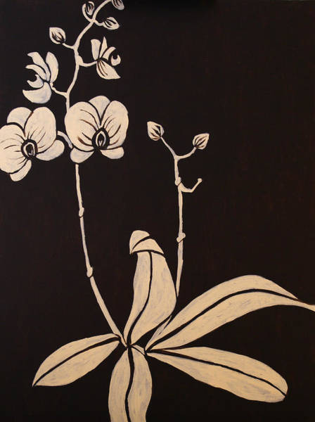 Coolidge Painting - Orchid by Sara Coolidge