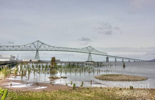 Astoria Bridge Photograph - Oregon To Washington Via Bridge Link by David Bearden