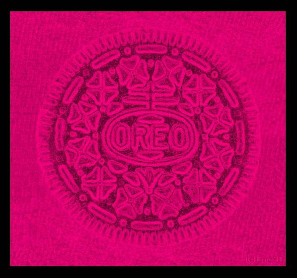 Nabisco Photograph - Oreo In Hot Pink by Rob Hans