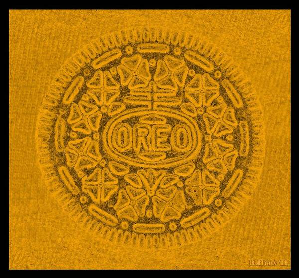 Nabisco Photograph - Oreo In Orange by Rob Hans