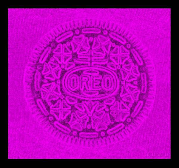 Wall Art - Photograph - Oreo In Purple by Rob Hans