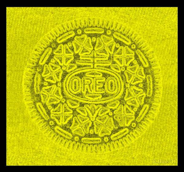 Nabisco Photograph - Oreo In Yellow by Rob Hans