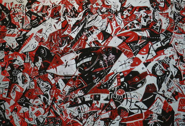 Master Piece Painting - Organized Chaos by Tyler Schmeling