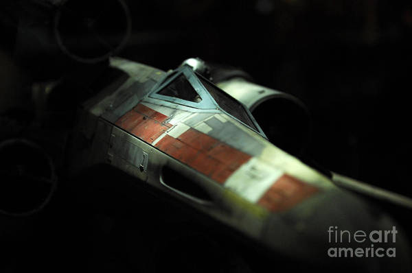 X Wing Photograph - Original X-wing by Micah May
