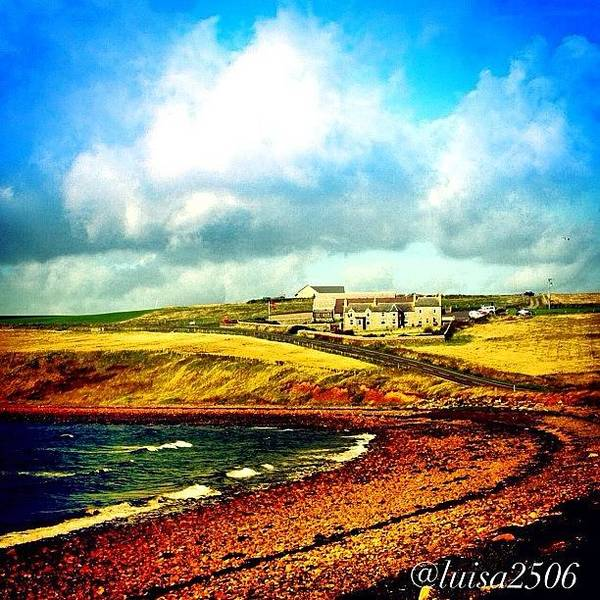Travel Photograph - Orkney Island by Luisa Azzolini