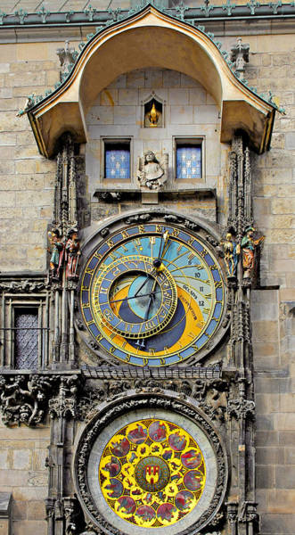 Wall Art - Photograph - Orloj - Prague Astronomical Clock by Christine Till