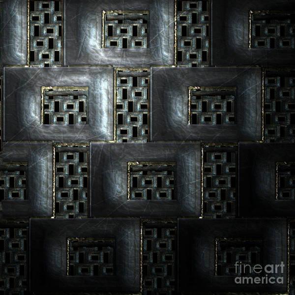 Wall Art - Digital Art - Ornament Pattern by Jan Willem Van Swigchem
