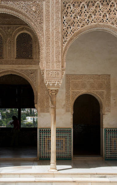 Photograph - Ornate Arch Alhambra by David Kleinsasser