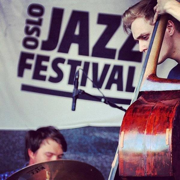 Jazz Wall Art - Photograph - #oslo #jazz #festival #norway #playing by Kiko Bustamante