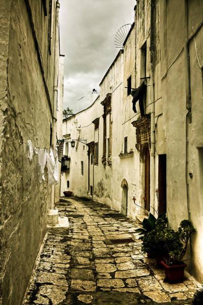 Dirty Laundry Photograph - Ostuni - Apulia by Joana Kruse