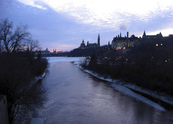 Aurore Photograph - Ottawa By Night 3 by Andre Paquin