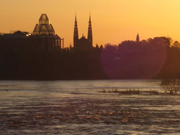 Aurore Photograph - Ottawa By Night 5 by Andre Paquin