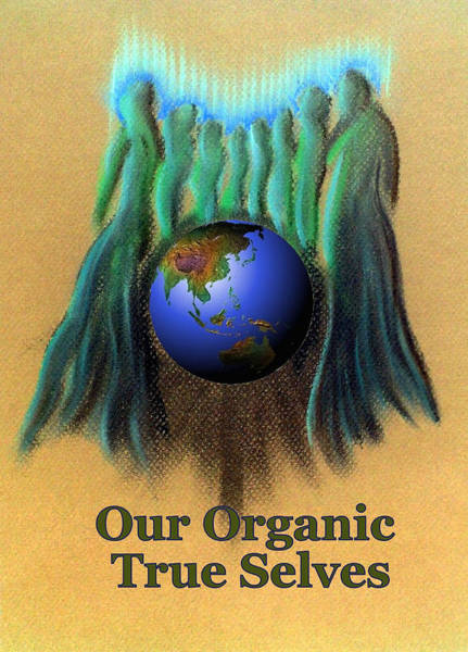 Painting - Our Organic True Selves by Ahonu