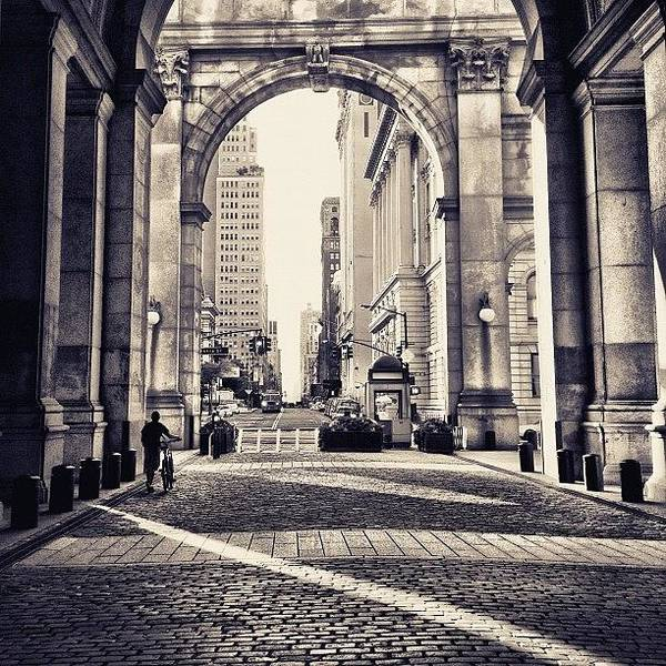 Wall Art - Photograph - Out From Shadows - Manhattan Municipal Building - New York City by Vivienne Gucwa