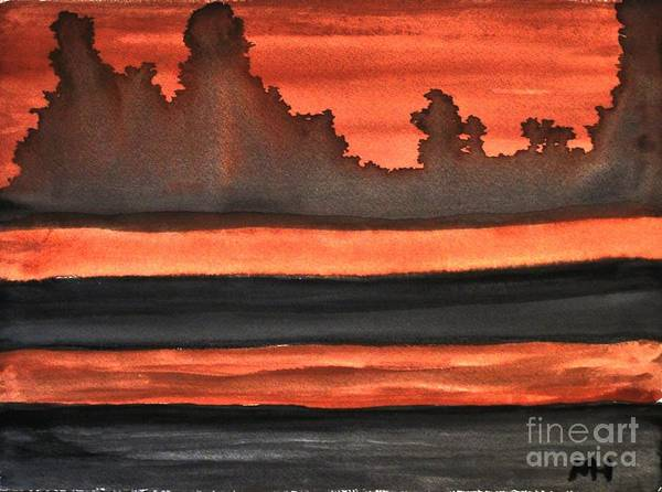Burnt Sienna Wall Art - Painting - Out Of Africa by Marsha Heiken