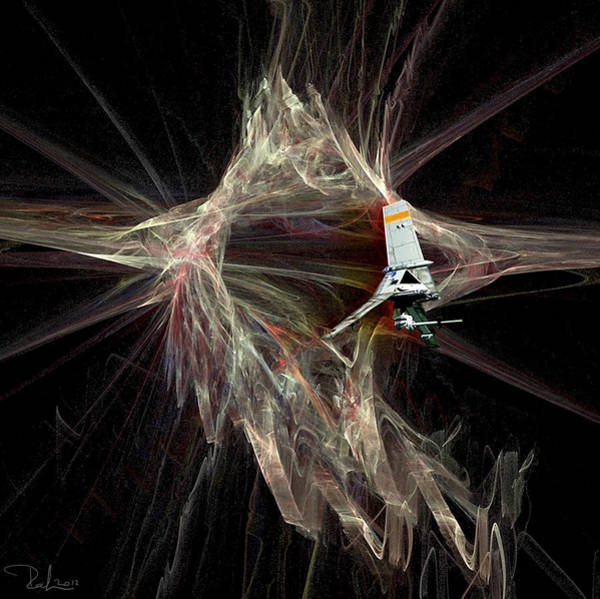 Photograph - Out Of Hyperspace by Raffaella Lunelli