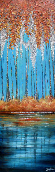 Wall Art - Painting - Out Of The Blue by Judy Merrell
