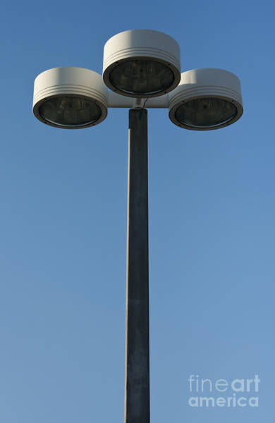 Wall Art - Photograph - Outdoor Lamp Post by Blink Images