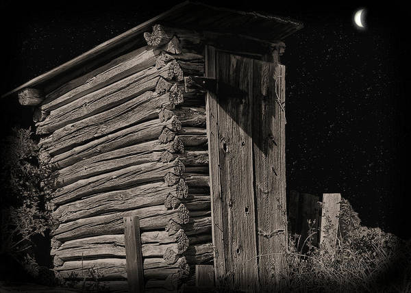 Photograph - Outhouse 4 by Susan Kinney
