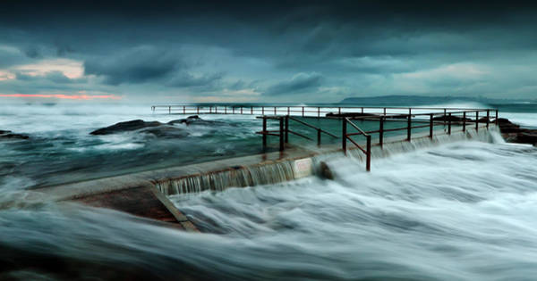 Photograph - Over The Edge by Mark Lucey