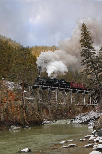 K-28 Photograph - Over The High Bridge by Ken Smith