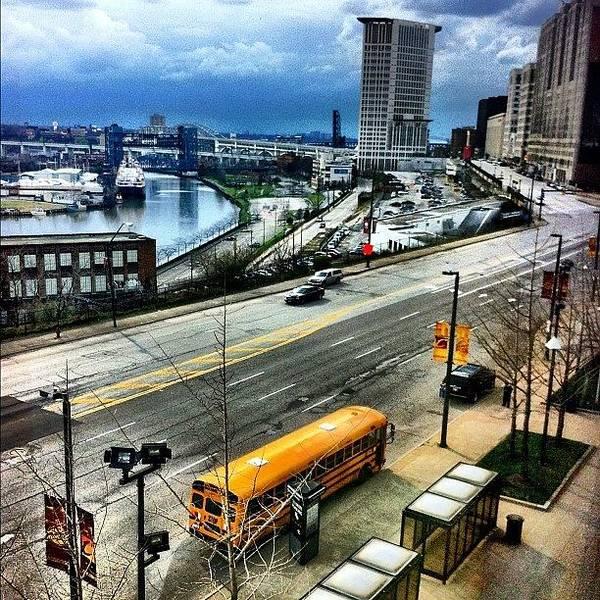 Bus Photograph - Overcast by Matthew Barker