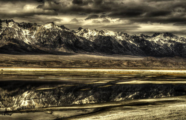 Granite Digital Art - Owens Lake 4 by Dawn Reamey
