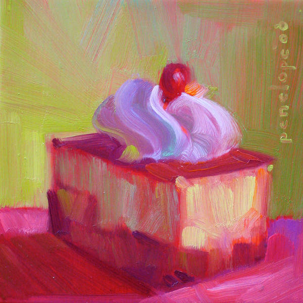Whipped Cream Painting - P. S. I Love You by Penelope Moore