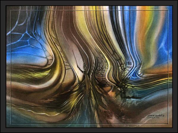 Pastel - p12 DragonflyscapeA 2009 by Glenn Bautista