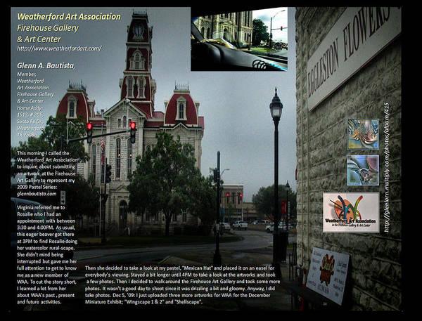 Digital Art - p28 Weatherford TX Courthouse by Glenn Bautista