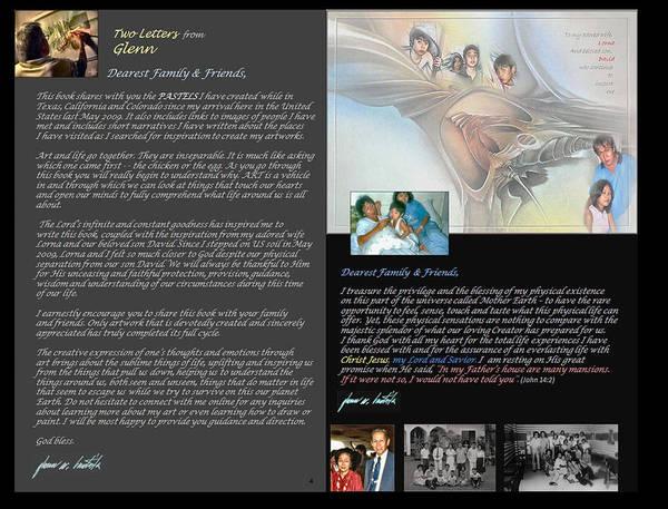 Digital Art - p4 Two Letter from Glenn by Glenn Bautista